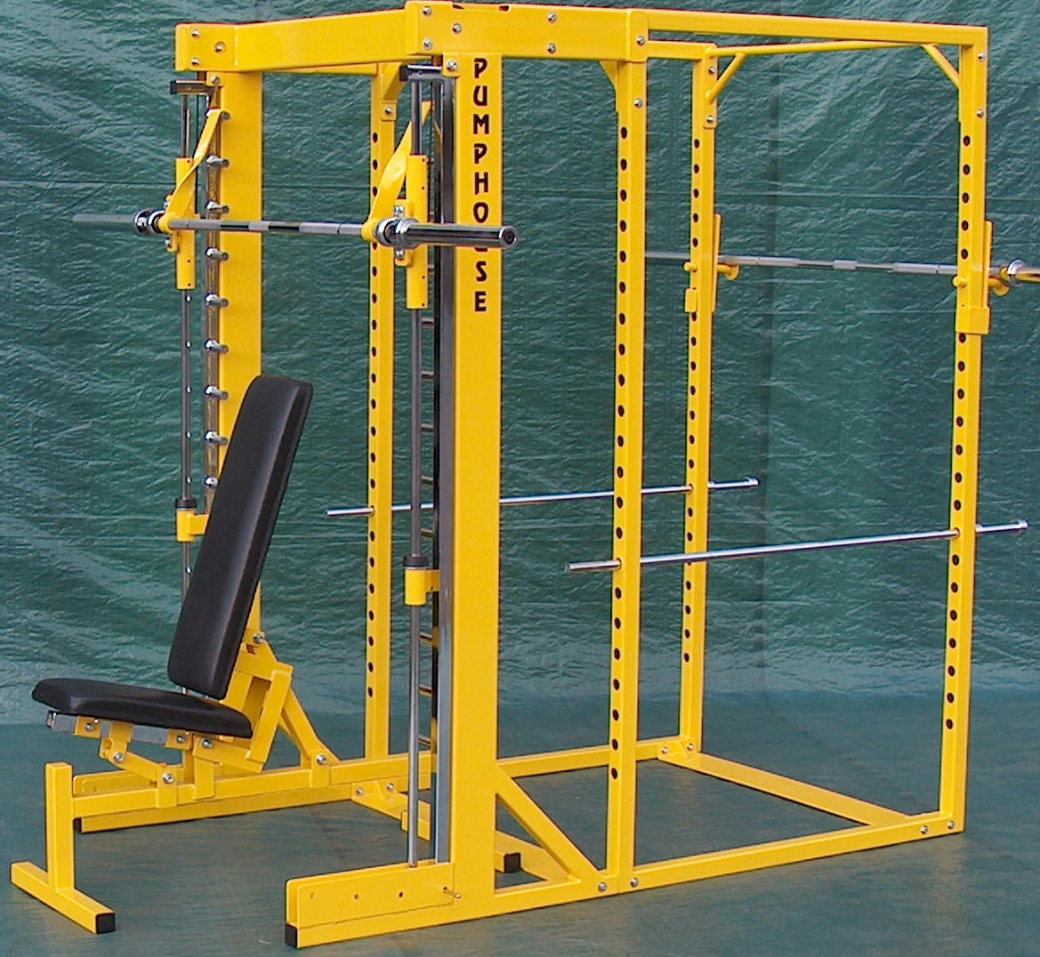 SQUAT CAGES AND POWER RACKS